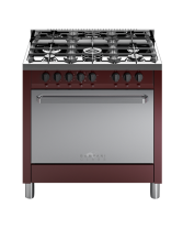 Standalone cooker BOMPANI BC847CA/N