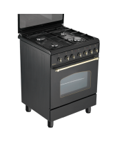 Standalone cooker BOMPANI BI643YA/P