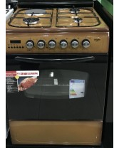 Standalone cooker ATIGAS 6031T brown