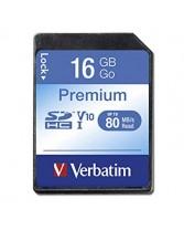 Հիշողության քարտ  VERBATIM 16GB Class10