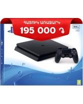 Տեսախաղային համակարգ  SONY PS4 SLIM/500GB