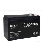 Аккумулятор OPTIMUS OP1207